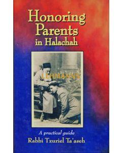 Honoring Parents in Halachah