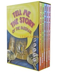 Tell me the story of the Parshah 5 Vol Boxed - Regular Binding Laminated Pages