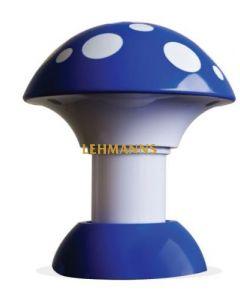 Kosherlamp Mushroom Blue (European Plug)
