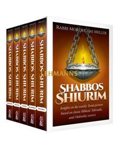 Shabbos Shiurim - 5 Volume Set