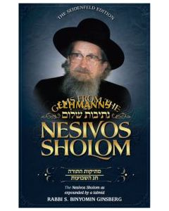 Gems from the Nesivos Shalom: Mesikus Hatorah & Chag Hashavuos