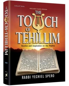 The Touch of Tehillim - Standard Size