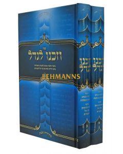 וזכנו לגדל ב' כרכים - אוצר הלכות ומנהגי ישראל לגידול הבנים