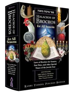 Halachos of Brochos for All Seasons