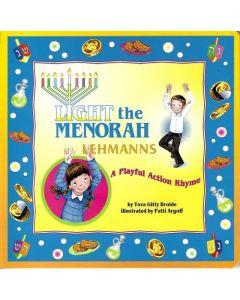 Light the Menorah – A Playful Action Rhyme