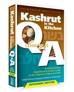 Kashrut in the Kitchen - Sephardic Edition
