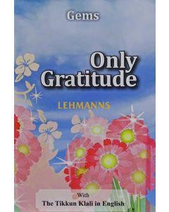 Only Gratitude - Pocket Size Paperback
