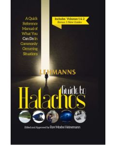 Guide To Halachos in 1 Vol - Revised and Expanded Edition!