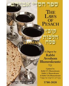 Pesach Digest 2020 - Rabbi Blumenkrantz