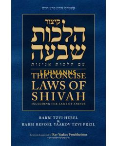 The Concise Laws of Shivah and Aninus