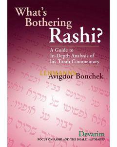 What's Bothering Rashi?: Devarim