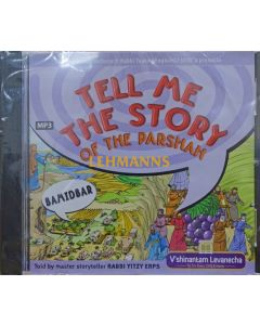 Tell Me The Story of The Parshah - Bamidbar MP3 CD - Price Excludes VAT
