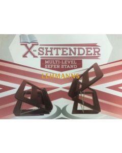 X-SHTENDER - The Sit-or-Stand Shtender - Dark Brown Finish