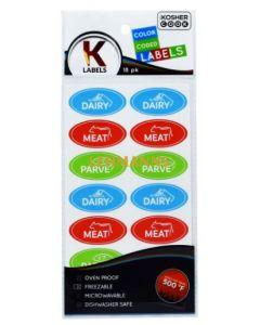 The Kosher Cook Kosher Labels English - Assorted