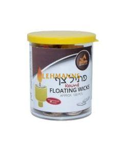 Ner Mitzvah Wicks - Floating (Round Shape) (100)