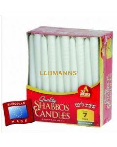 Ner Mitzvah Candle Shabbos - European (7 Hour) - 30 Pk