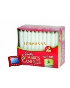 Ner Mitzvah Candle Shabbos - European (6 Hour) - 60 Pk