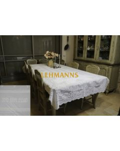 Judaica: Leather Like Tablecloth-220 x140 cm with Shabbat and Yom Tov Design