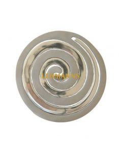 Yair Emanuel:Hot Dish Table Protector/Trivet-Aluminium-Two Piece Spiral