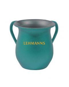 Yair Emanuel:Washing Cup - Anodized Aluminium - Turquiose Colour