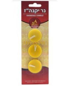 Ner Mitzvah Yaknehaz Tealight Candles