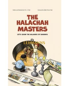 Halachah Masters -Lets's learn the Halochos of Shabbos, COMIC
