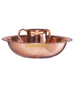 Washing Cup  And Bowl Set- Stainless Steel Copper Plated