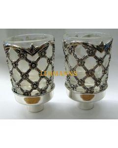 Neronim- Silver Plated -Floral Design