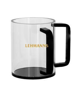 Washing Cup- Acrylic- Black Handles