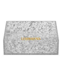 Napkin Holder-Acrylic-Silver Flakes Decoration