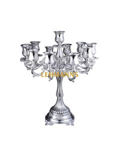 Candelabra-11 Branches- Silver Plated-Ornate Decoration