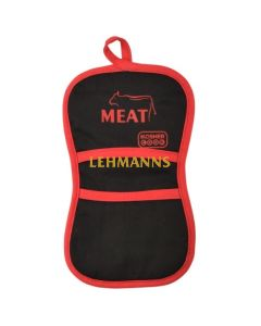 The Kosher Cook Pot Holder - Meat (Red)