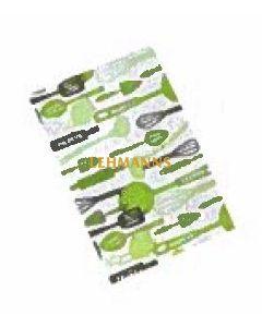 The Kosher Cook Tea Towel - Parve (Green)