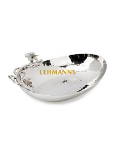 Nut Dish with Jeweled Flower Design