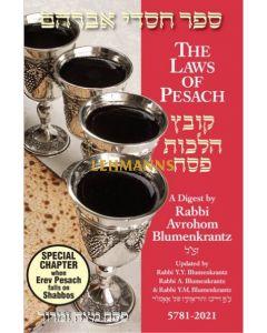 Pesach Digest 2021 - Rabbi Blumenkrantz