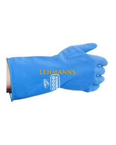 The Kosher Cook Latex Cleaning Glove - Medium Size Blue (Dairy)