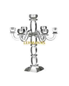 Candelabra -7 Branches-Ornate-Crystal  55.9cm