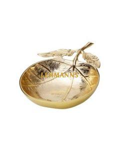 Gold Leaf Dish -- 21x15.2x5cm