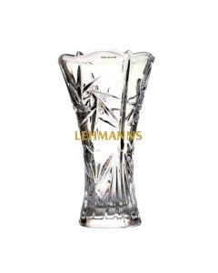 Crystal  Vase-Chiseled Design 25.4cm
