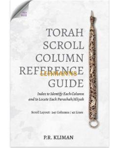 Torah Scroll Column Reference Guide