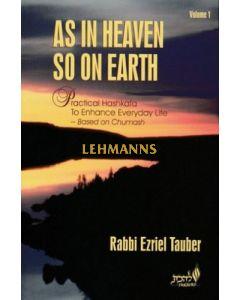 As In Heaven So On Earth Volume 1