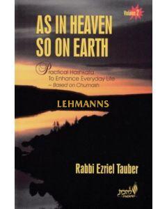 As In Heaven So On Earth Volume 2