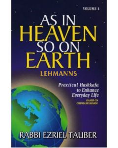 As In Heaven So On Earth Volume 4