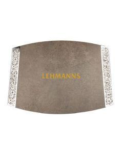 Yair Emanuel: Challah Board - Porcelain + Metal Cutout - Green