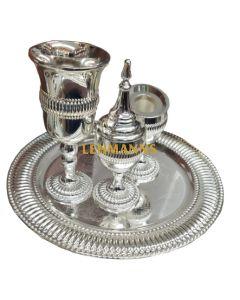 Havdallah Set-Aluminium Beaded Design
