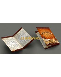 Seder Bencher - Pocket Size 2 fold