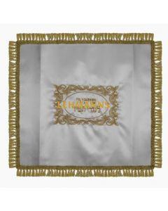Shtender Cover- Satin- Gold Design -Adjustable Velcro