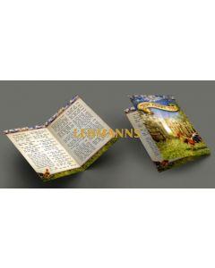 Seder Hashkamat Haboker Pocket Size 2 fold