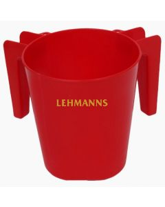 Washing Cup- Red Plastic