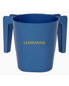 Washing Cup- Metallic Blue- Plastic